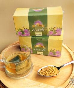 ชาเกสรผึ้ง Bee pollen tea